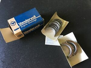 Nos Vandervell Engine Bearings For Various Oldsmobile 260 403 Vpm 91261 Std