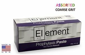 2 Boxes Element Prophy Paste Cups Assorted Coarse 200 box Dental Flouride