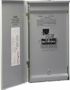 Reliance Controls Corporation Twb2006dr Outdoor Transfer Panel