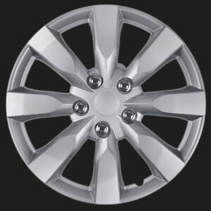 Hubcaps 16 Inch Chrome For Toyota Camry Replica Snap On Wheel Covers Hub Caps