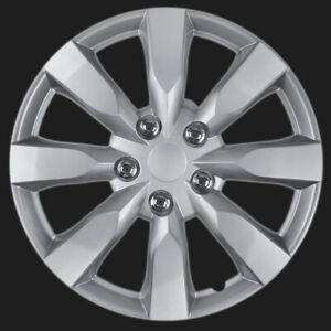 Hubcaps 16 Inch Chrome Toyota Camry Replica Snap On Wheel Covers Hub Caps