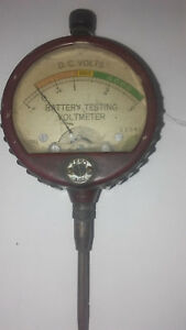 Vintage Hickok Electrical Dc Battery Volts Tester