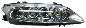 For 2003 2004 2005 Mazda 6 Right Passenger Headlamp Headlight W Fog 03 04 05 Rh