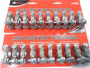Battery Terminal Ends 20 Pc Battery Terminal Ends Top Post