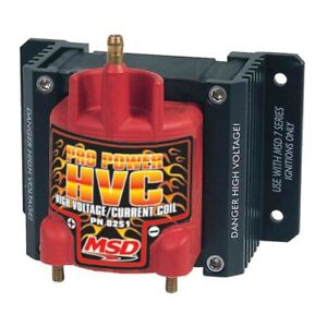 Msd Ignition 8251 Pro Power Hvc Coil For Use With 7 8 series Ignitions