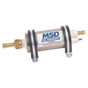 Msd Ignition 2225 Electric Fuel Pump For Efi Applications