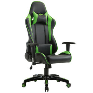 Office Gaming Chair Racing Computer Recliner High Back Business Desk Seat Adjust