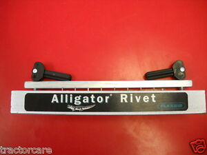 Alligator Rivet Belt Lacing Installation Tool Art 7 Vermeer John Deere Baler