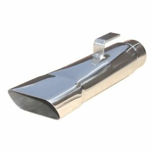Pypes Performance Exhaust Evt80 2 5 Stainless Steel Rectangle Exhaust Tips