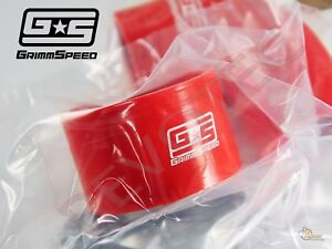 Grimmspeed Top Mount Intercooler Tmic Silicone Y Pipe Hose 02 07 Wrx 04 17 Sti