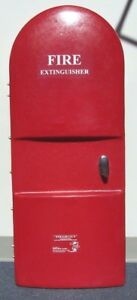 Fiberglass Fire Extinguisher Cabinet Commercial 20lbs Made In Usa 14392 210