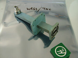 Wr62 Waveguide Adapter Tnc Microlab Wca15t