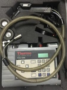 Thermo Scientific Tva 1000 Toxic Vapor Analyzer both Are Tva 1000 B Models