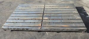 88 X 49 25 X 6 Steel Welding 9 T slotted Table Layout Plate Jig_9 Slot