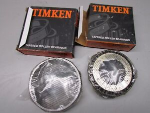 Timken 455 Tapered Roller Bearing Cone With 453a Cup