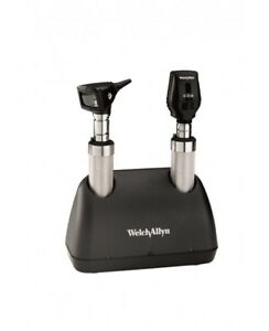 Welch Allyn_2 5 V Desk Set With Pocket Ophthalmoscope otoscope Handles