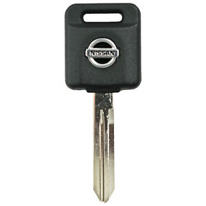New Ignition Key Transponder Chip Uncut Blade Replacement Logo For Ni02pt