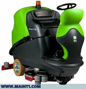 Ipc Eagle Ct160 30 Cylindrical Ride On Floor Scrubber free Shipping Brand New