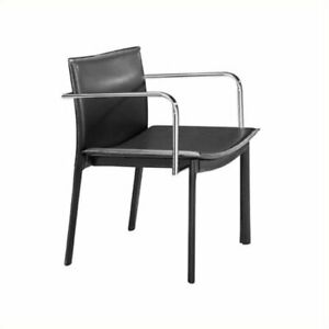 Brika Home Conference Guest Chair In Black