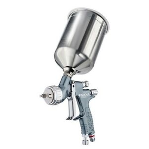 Devilbiss Tekna Primer Auto Paint Spray Gun With 1 4 And 1 6 Mm Nozzle 704174