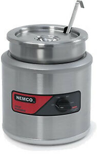 Nemco 6100a icl 7 Qt Round Warmer W Inset