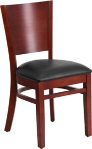 Flash Furniture Wooden Restaurant Chair Lacey Series Xu dg w0094b mah blkv gg