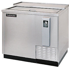 Continental Draft Beer Cooler 79 Wide Cbc37 ss dc