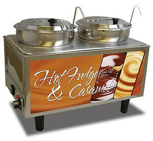 Benchmark Usa Hot Fudge caramel Warmer Model Number 51072h