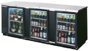 Beverage air Commercial Refrigeration 94 Glass Door Back Bar Bb94g 1 b pt