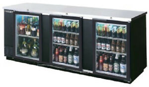 Beverage air Commercial Refrigeration 94 Glass Door Back Bar Bb94g 1 b