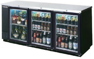 Beverage air Commercial Refrigeration 78 Glass Door Back Bar Bb78g 1 s
