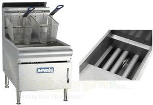 Imperial Commercial Fryer Counter Top natural Gas Model Ifst 25