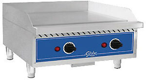 Globe Countertop Griddle Electric 24 Geg24