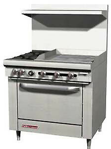 S series Range 36 W 36 Thermostatic Griddle S36d 3t