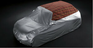 Oem Mini Cooper Convertible R57 Outdoor Car Cover Silver Plaid 82150445408