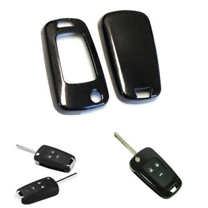 Exact Fit Glossy Black Smart Key Fob Shell Cover For Chevrolet Gmc 3 4 5 Buttons