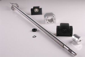 Ballscrew 1605 700mm End Machine Cnc Couplers With Ballnut Housing