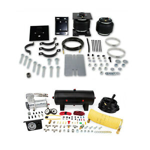 Air Lift Control Air Spring Single Path Air Compressor Kit For Express 3500