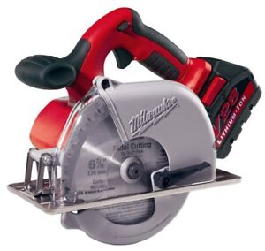 Milwaukee 0740 22 V28 Lithium 6 7 8 inch Cordless Metal Cutting Circular Saw