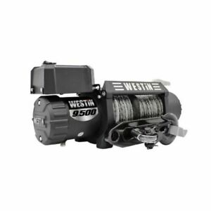 Westin 47 2103 T Max 9 500 Lbs Off Road 9 5s Waterproof Winch W Synthetic Rope