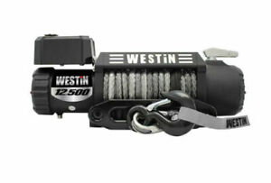 Westin 47 2109 T Max 12 500 Lbs Off Road 12 5s 12v Synthetic Line Winch