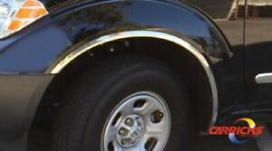 Carrichs Ftns201 Stainless Steel 1 18 Width Fender Trim For Nissan Frontier