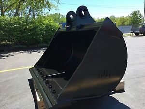 New 60 Ditch Cleaning Bucket For A Case Cx210 With Pins