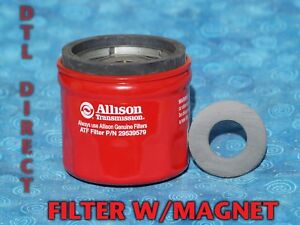 Allison 29539579 Spin On Filter With Magnet Duramax T1000 Transmission 29535617