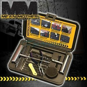 Mean Mother 4x4 Heavy Duty Off Road Emergency Tire Repair Kit With Hard Case New