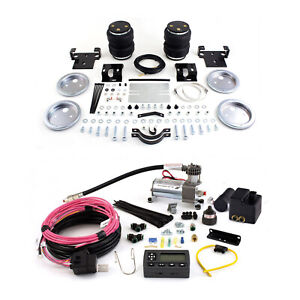 Air Lift Suspension Air Bag Wireless Air Compressor Kit For Silverado 2500 Hd