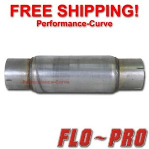 Flo Pro Twister F5 Exhaust Muffler Race Diesel Resonator 4 In 18 Long