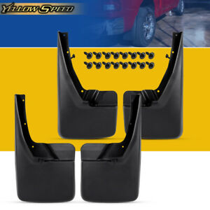 For Dodge Ram 1500 2500 3500 2009 2018 2016 Splash Guards Mud Flaps Front