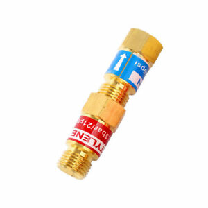 Oxygen Acetylene Check Valve Set For Torch End Welding Cutting Us Fast