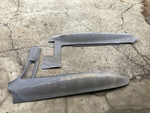 1966 1967 Corvette Fiberglass Fender Rh Surround 396 427 L71 L72 Black Glass